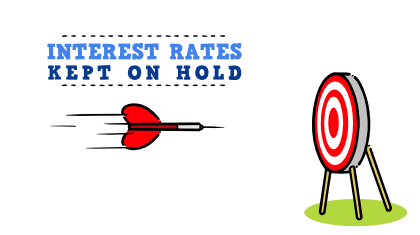 Interest rates on hold